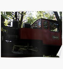 Steam Engine Train Poster
