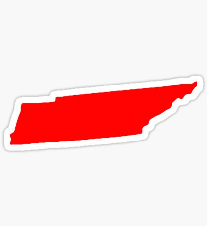 Tennessee in Red Sticker