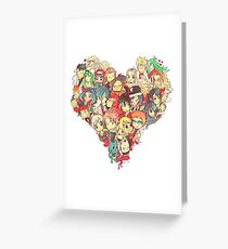 fairy tail <3 Greeting Card