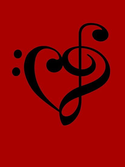 Bass- Treble heart by rjburke24