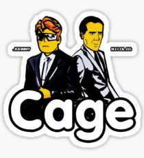 Cage (Version 2) Sticker
