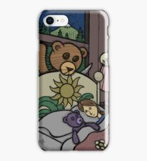 Teddy Bear And Bunny - Jealous iPhone Case/Skin