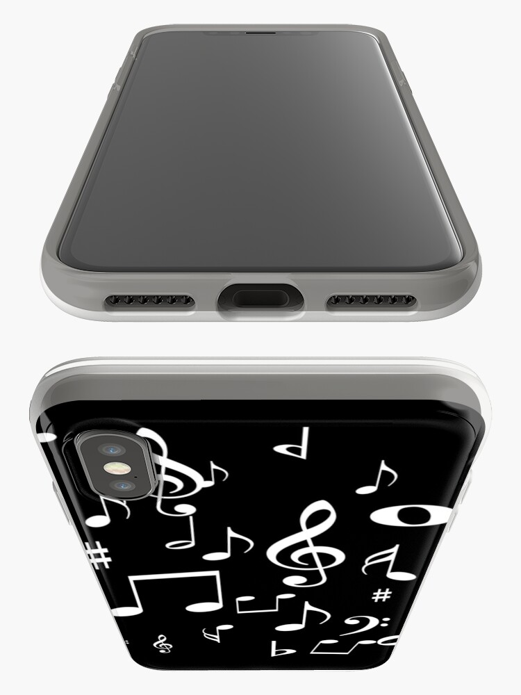 Alternate view of Music notes iPhone Case & Cover