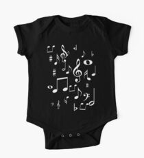 Music notes One Piece - Short Sleeve