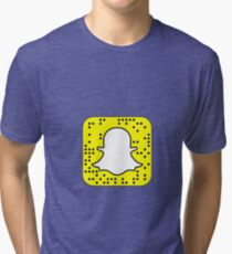 Made to Order Custom snapcodes (Message Nia.v on kik) DO NOT ORDER UNTIL YOU HAVE REACHED ME Tri-blend T-Shirt