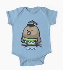 Jerome, the Policing Owl: H.O.O.T. One Piece - Short Sleeve