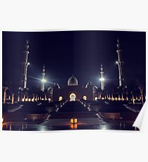 Zayed Grand Mosque Entrance Poster