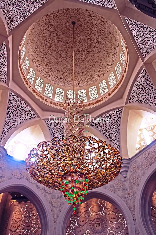 Mosque Chandelier by Omar Dakhane