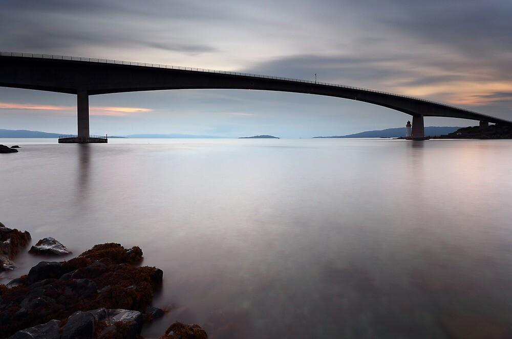 Skye bridge Sunset by Grant Glendinning