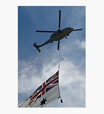 SeaHawk and Ensign Photographic Print