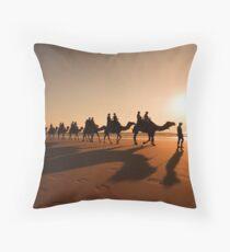 Camel Prints Throw Pillow