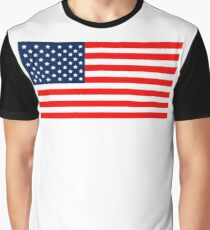 Flag of the United States of America Graphic T-Shirt