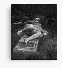 Female Sculpture Canvas Print