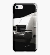 Classic Car (black&white) iPhone Case/Skin