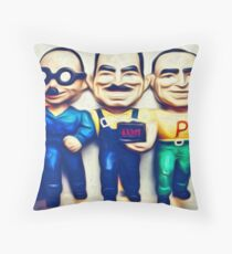Manny, Moe and Jack Throw Pillow