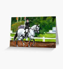 Lusitano Horse Greeting Card