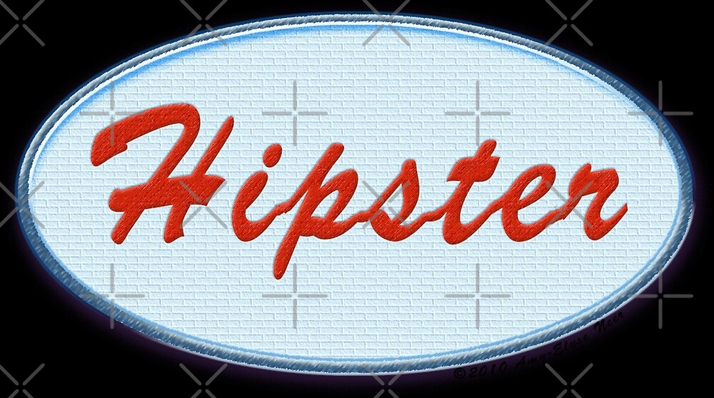 Hipster Patch by Amy-Elyse Neer