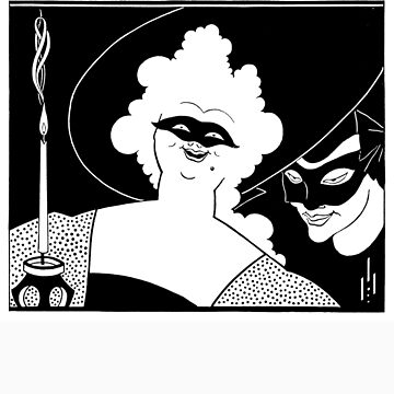 Aubrey Beardsley - Masquerade by carpediem6655