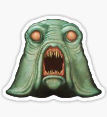 Swamp Alien Sticker