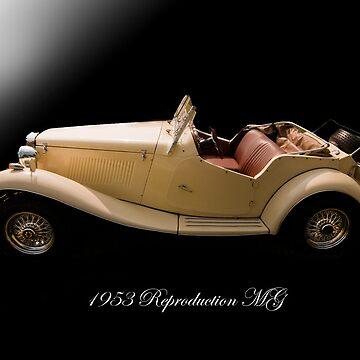 1953 Reproduction MG by branhamphoto