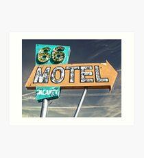 Motel 66 Art Print