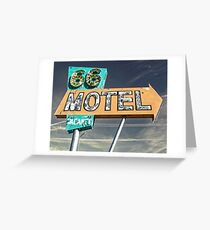 Motel 66 Greeting Card