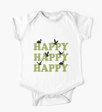 Green Digital Camo Happy Happy Happy Kids Clothes