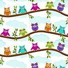 happy owls  by Ancello
