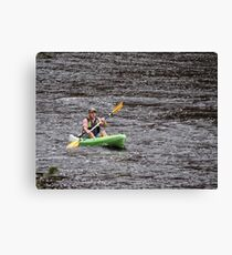 Water Travel Canvas Print