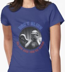 The Weeping Angel Tee  Women's Fitted T-Shirt