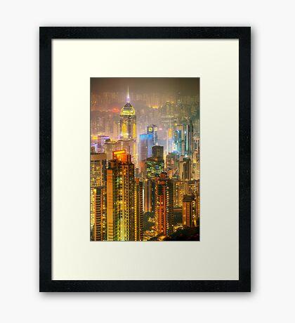 Hong Kong I Framed Print