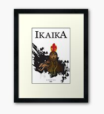 "Ikaika ""The Strong"" Framed Print"