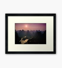 6pm Xingping Framed Print
