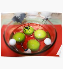 Halloween Apple Bobbing Poster