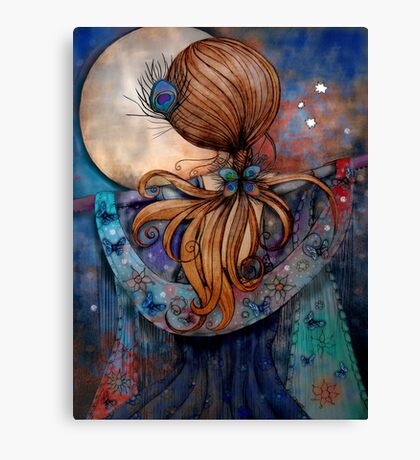 Dancing with the Moon Canvas Print