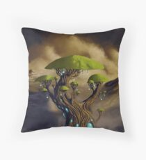 The Great Portal Tree Throw Pillow