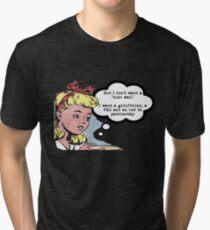 "I don't want a ""nice man"" - feminist tee Tri-blend T-Shirt"