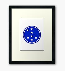 7th Infantry Division, Republic of Korea Army Framed Print