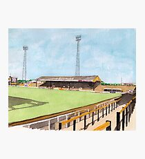 Hull City - Boothferry Park Photographic Print