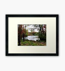 Soft spring colours Framed Print