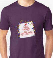 TARDIS Sign - DW Christmas Special T-Shirt
