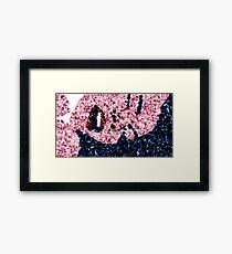 Flutter Girl Framed Print