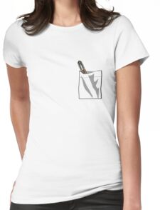 Sonic In My Pocket V.11 Womens Fitted T-Shirt