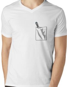 Sonic In My Pocket V.10 Mens V-Neck T-Shirt