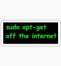 Sudo Sticker
