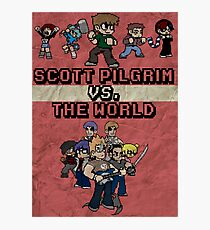 Scott Pilgrim Vs. The World Photographic Print