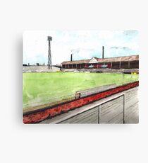 Notts County - Meadow Lane Canvas Print