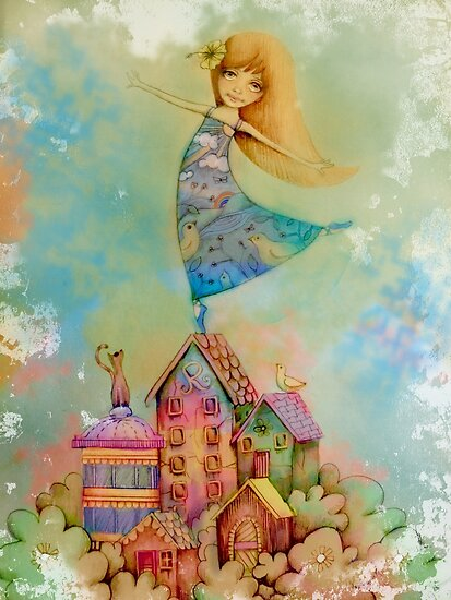dancing on rooftops by © Karin Taylor