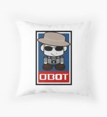 Frank O'bot 2.0 Throw Pillow