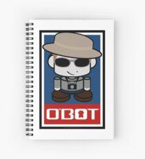 Frank O'bot 2.0 Spiral Notebook